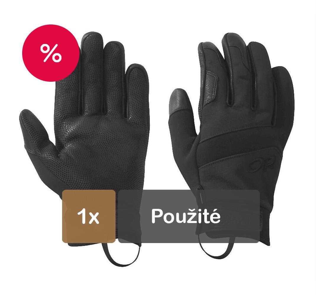 45d0597b8b9 Zimné rukavice Coldshot čierne 1x-pouzite