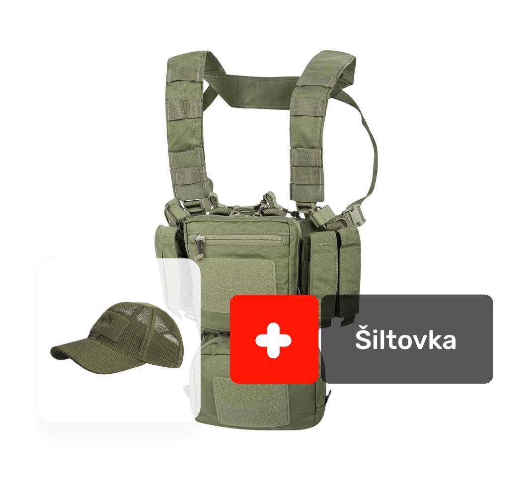 bdf5aa1aa AKCIA vesta Training Mini Rig® oliv + šiltovka Mesh oliv, Helikon ...