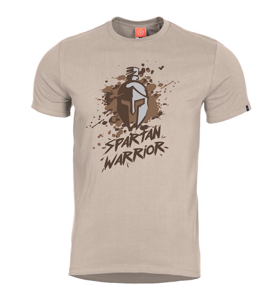 5d251e15e8 Tričko Spartan Warrior kaki